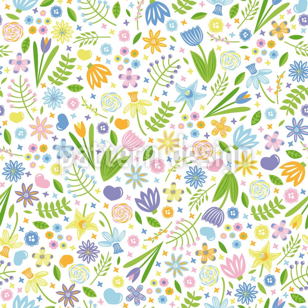 Designtapete Arrangement Floral