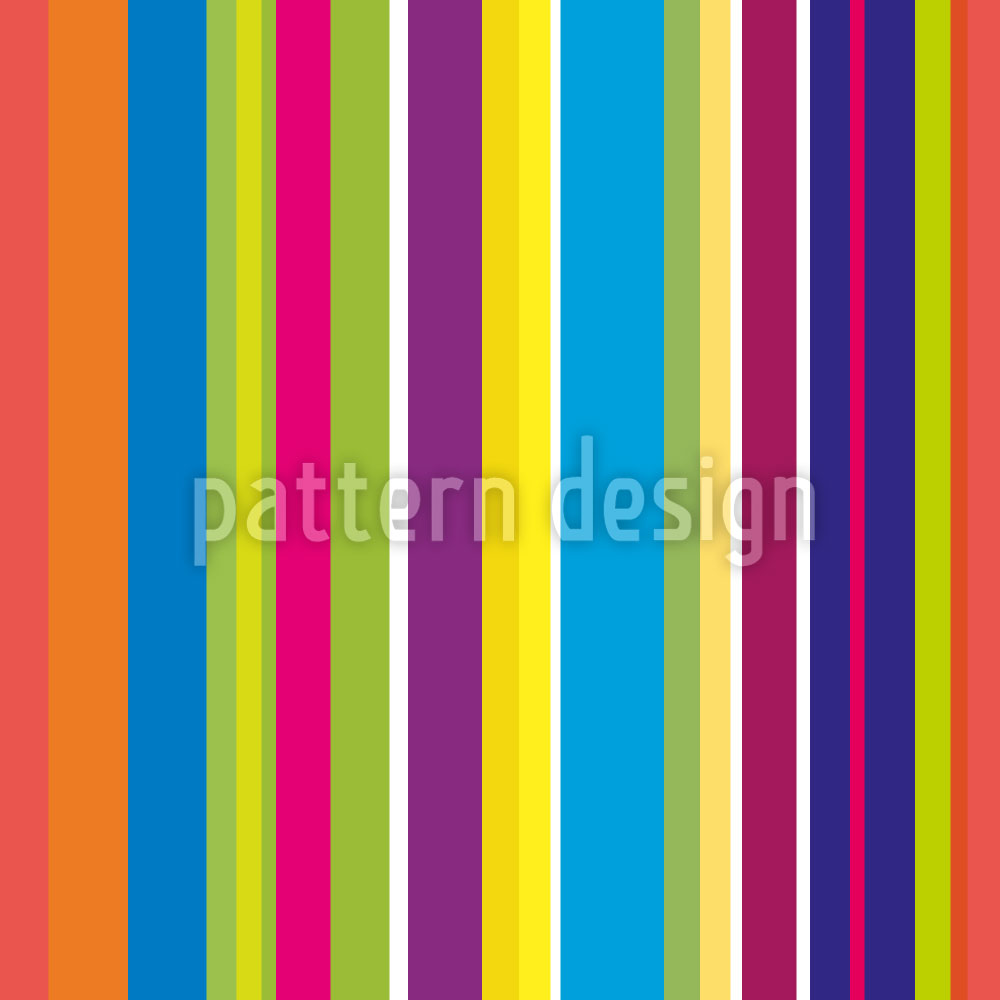 Designtapete Happy Stripes