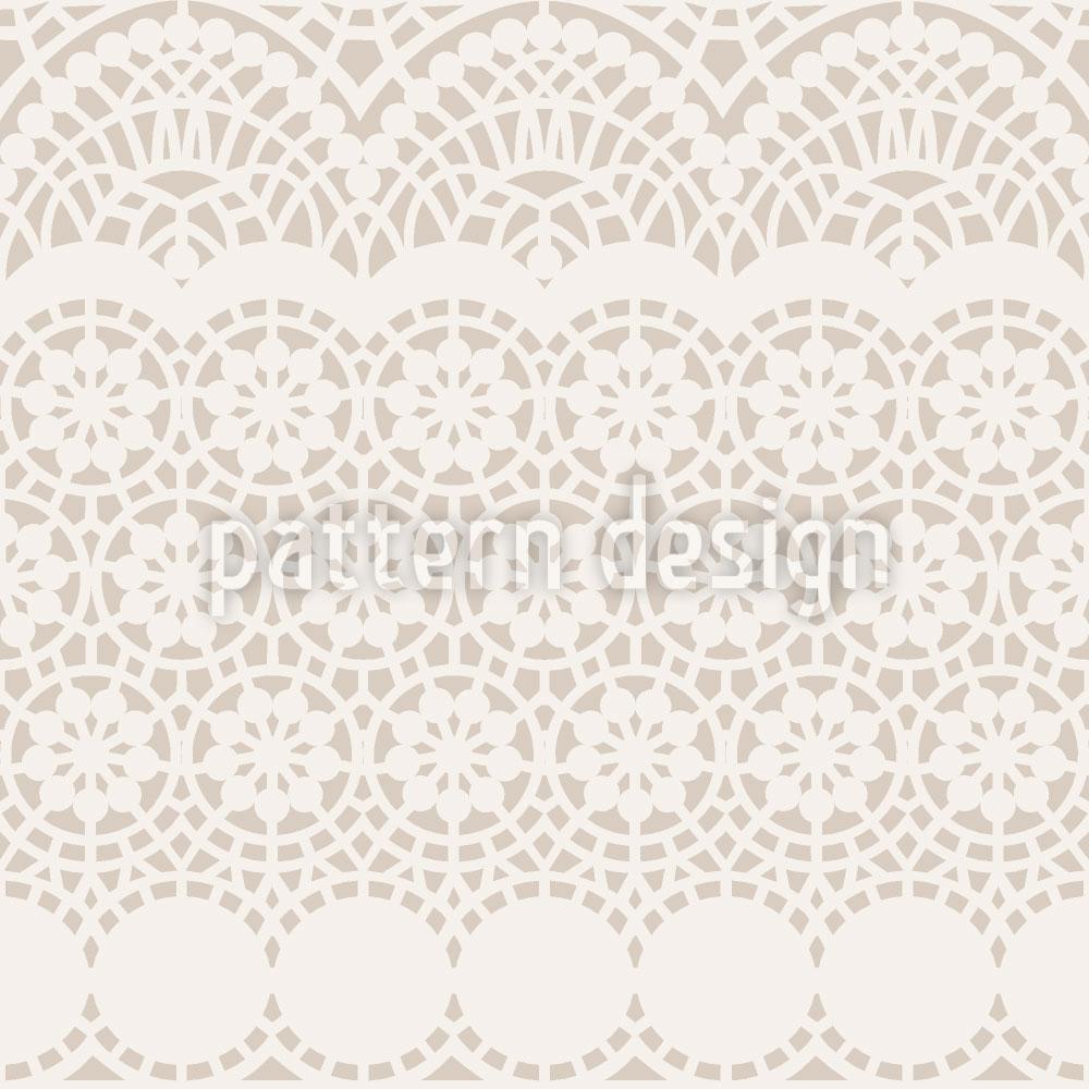 Designtapete Alhambra Beige
