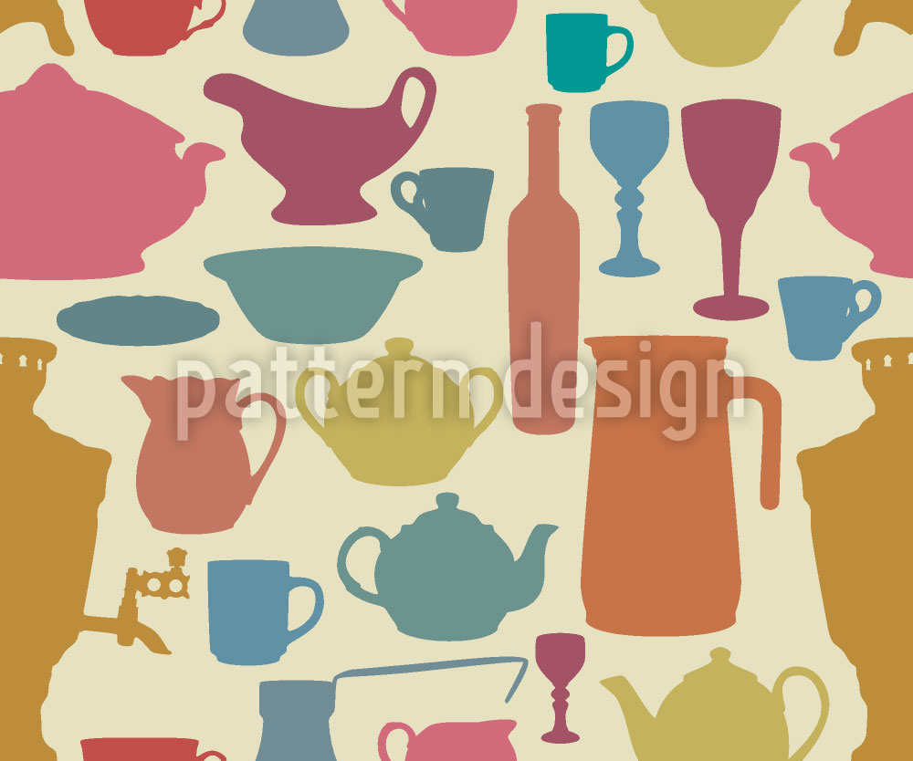Designtapete Tiffanys Tafel