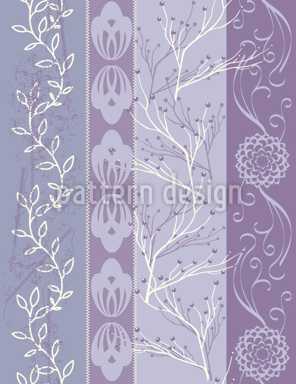 Designtapete Lavendel Exquisit