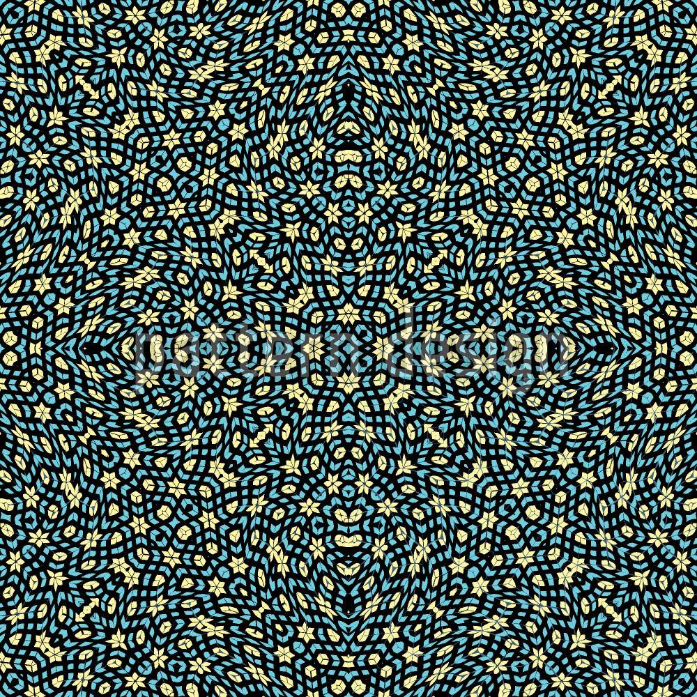 Designtapete Kaleidoskop Garten