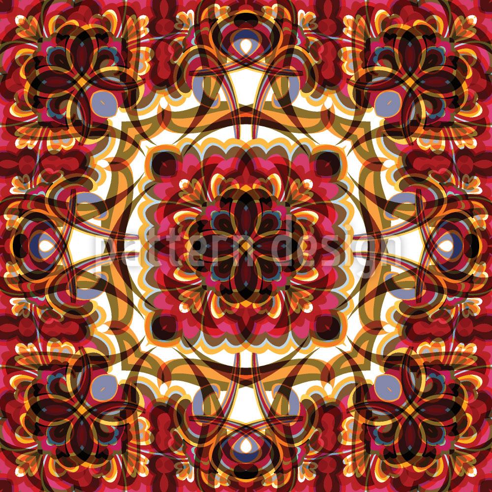 Designtapete Abstrakt Orient