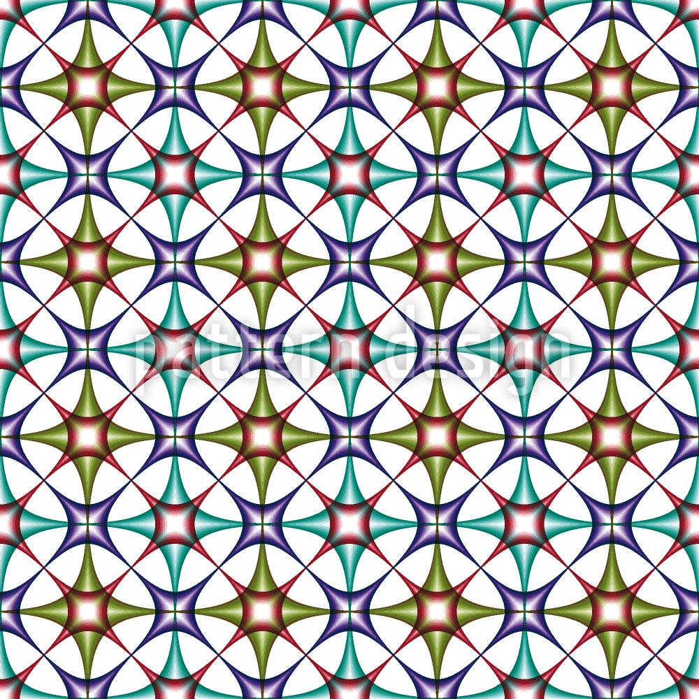Designtapete Art Deco Arabisch