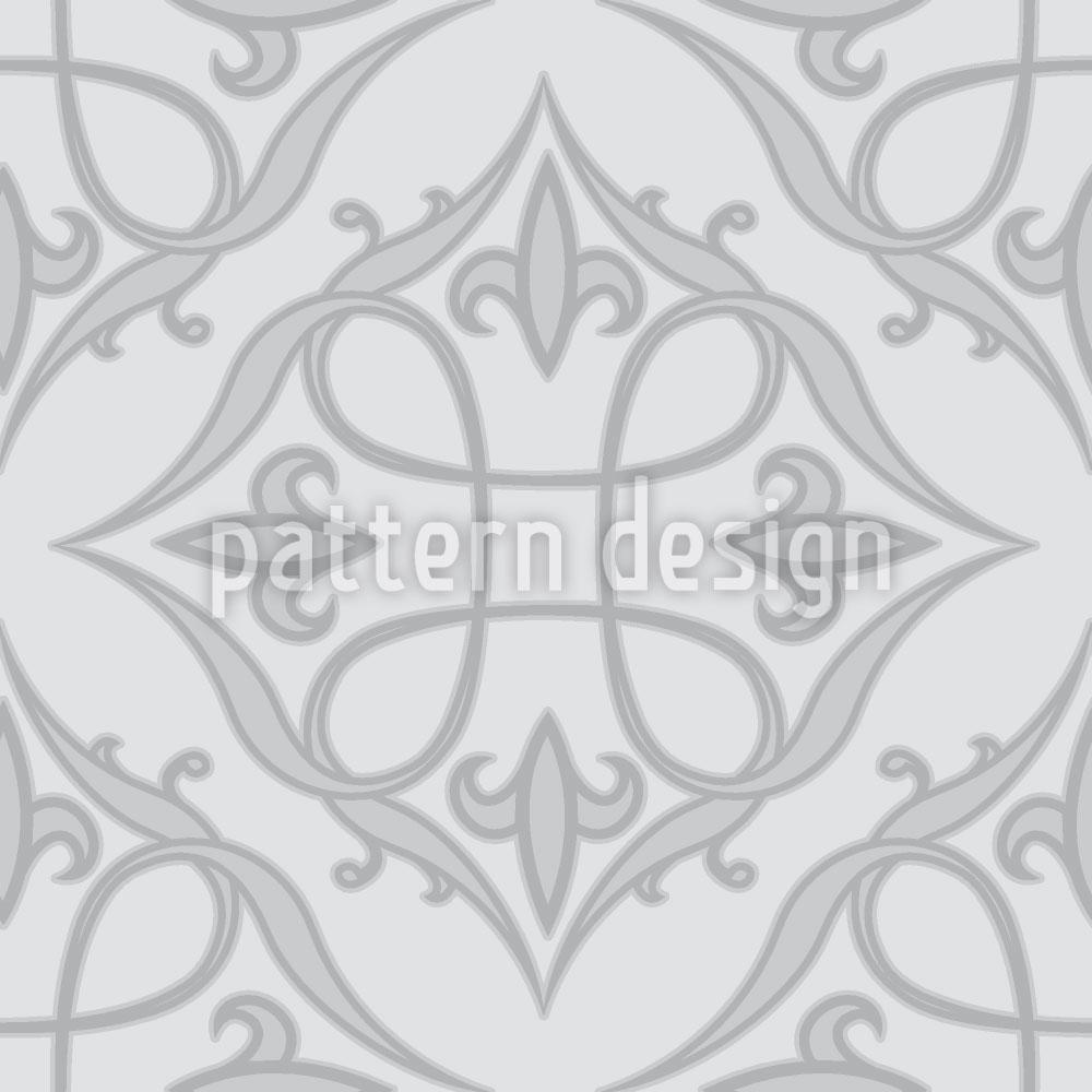 Designtapete Renaissance Grau