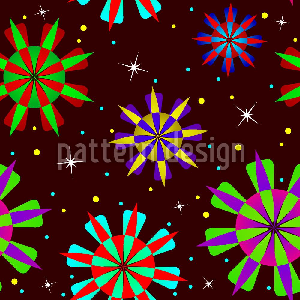Designtapete Sternenstaub Party