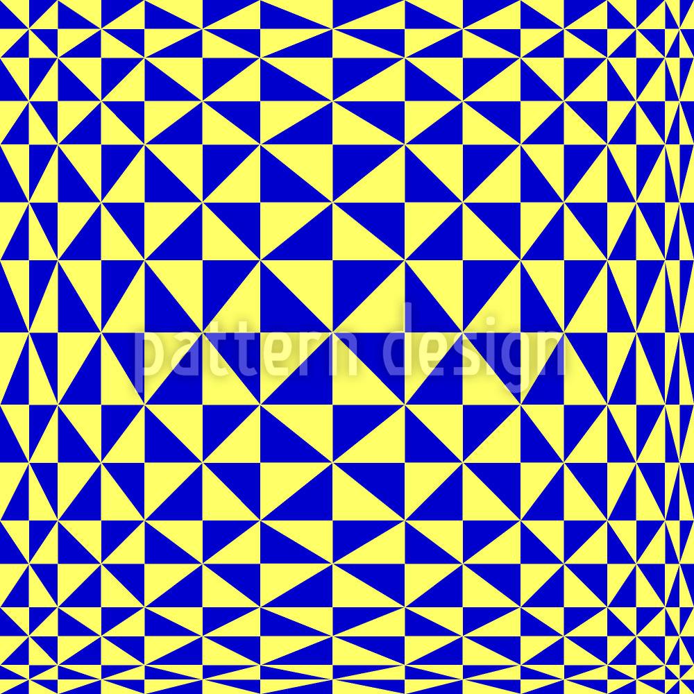 Designtapete Dreieckig Geometrisch