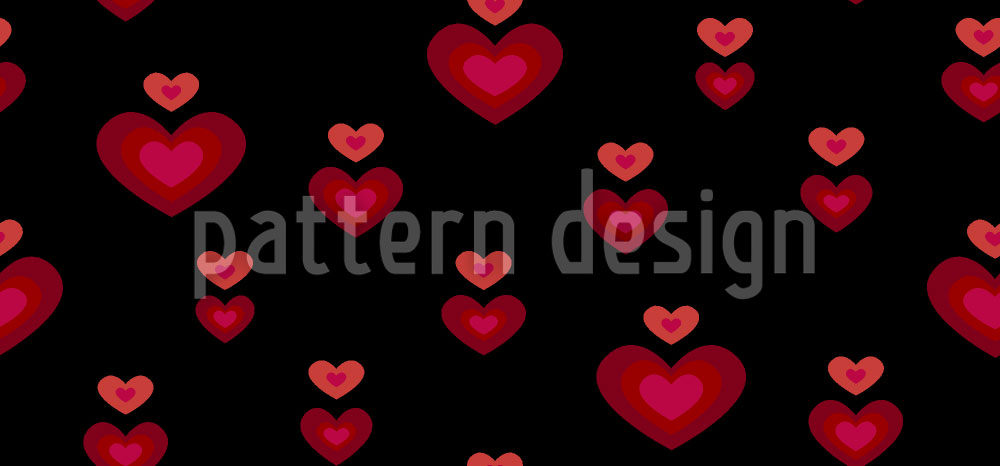 Designtapete Herzschlag
