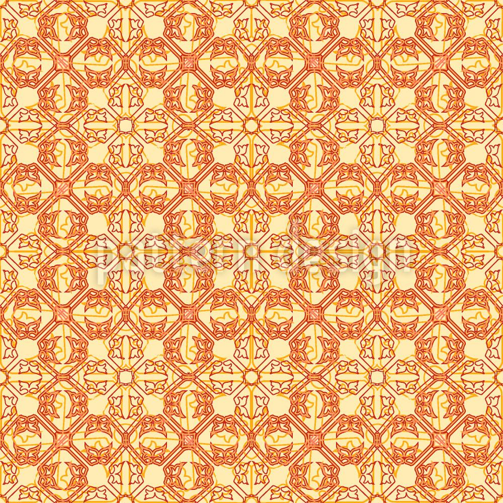 Designtapete Arabisch Gold