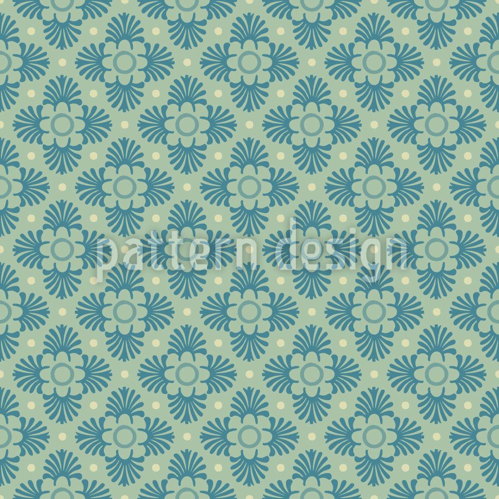 Designtapete Bloom Grün
