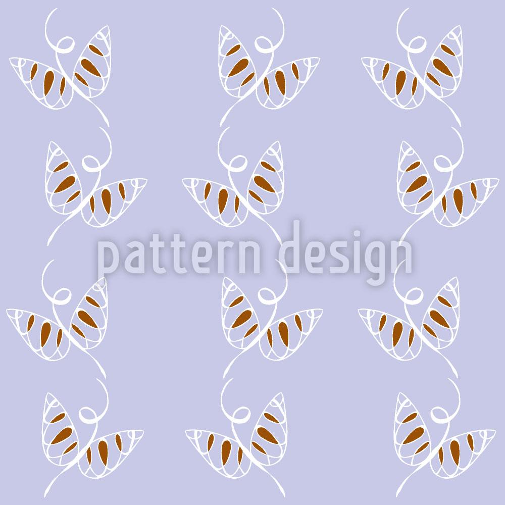Designtapete Lockende Schmetterlinge