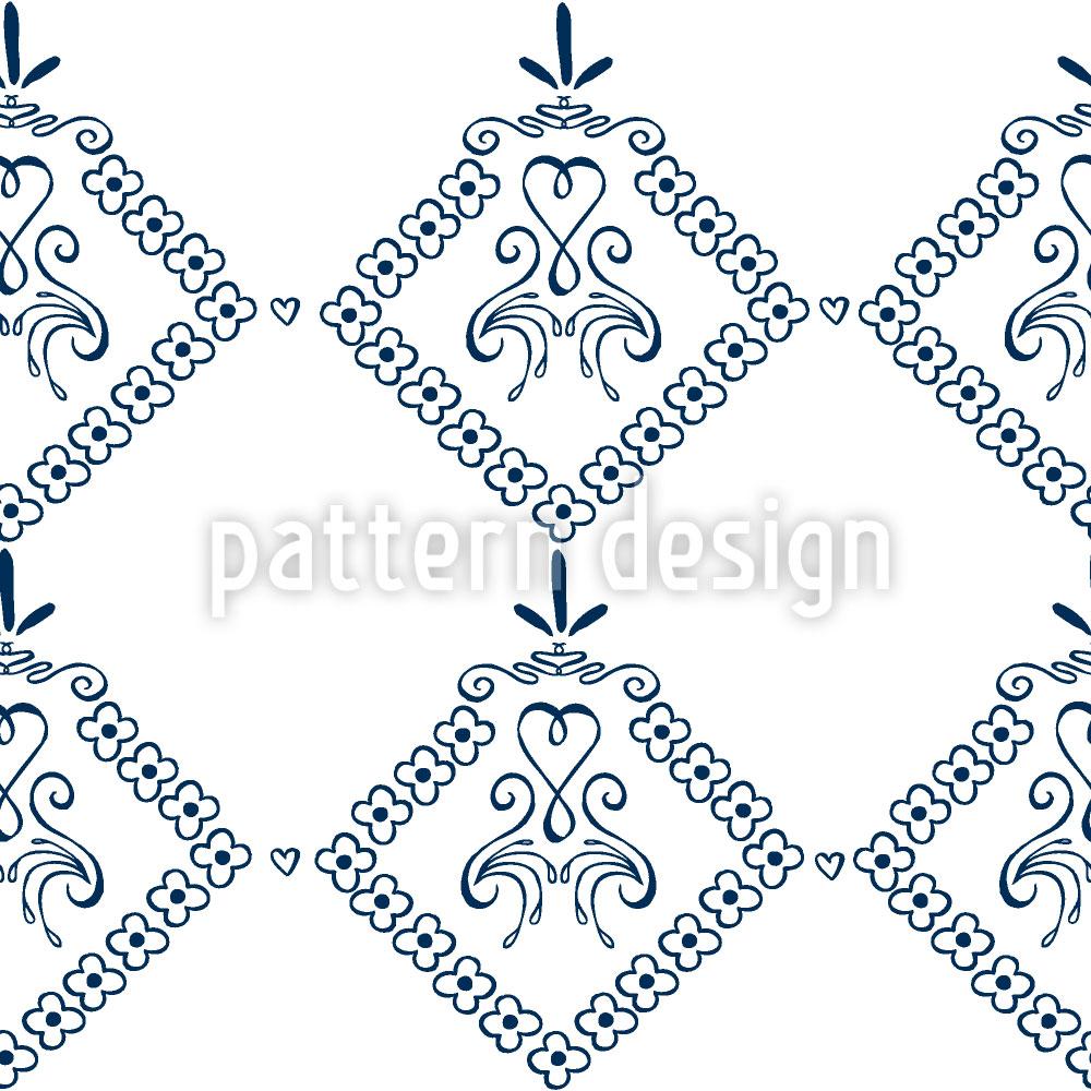 Designtapete Dekora Blau