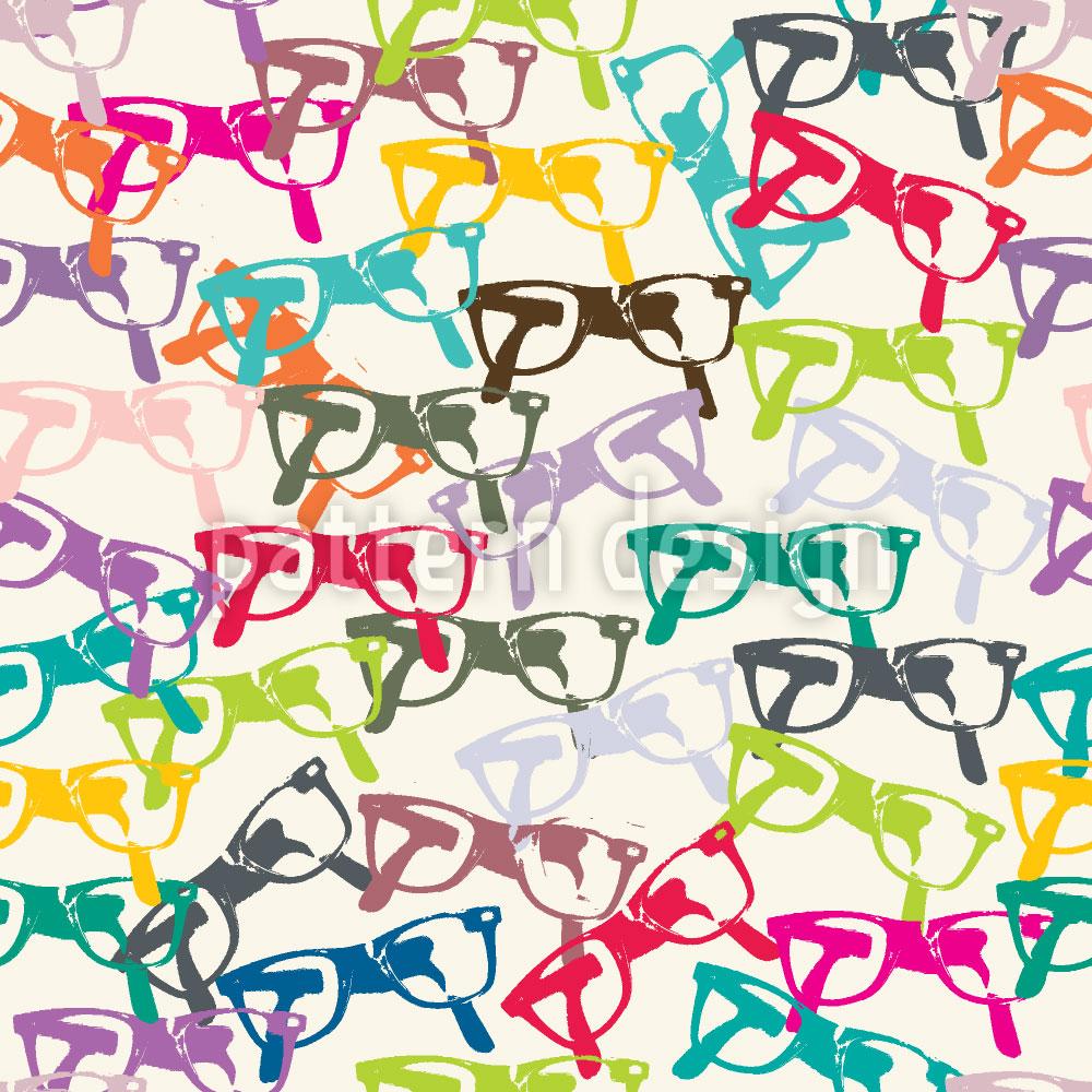 Designtapete Klarsicht Brille