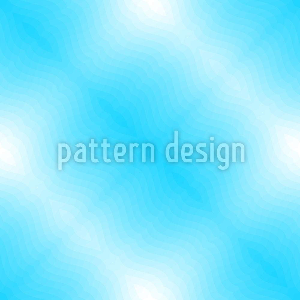 Designtapete Blaue Wasseroberfläche