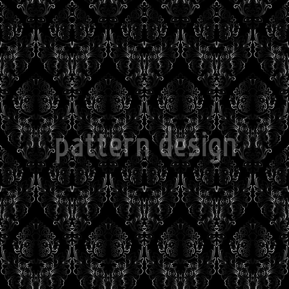 Designtapete Damast Textur