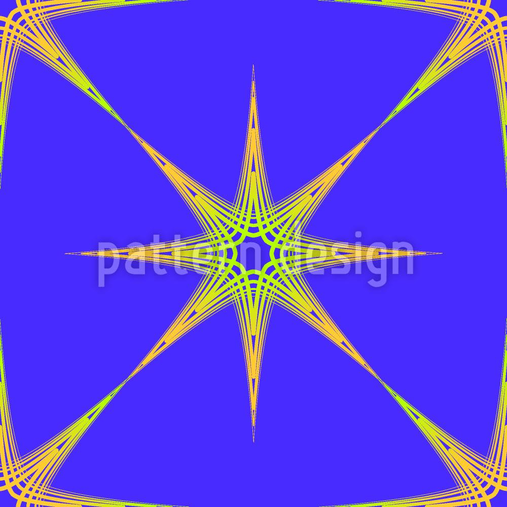 Designtapete Stern Des Ostens
