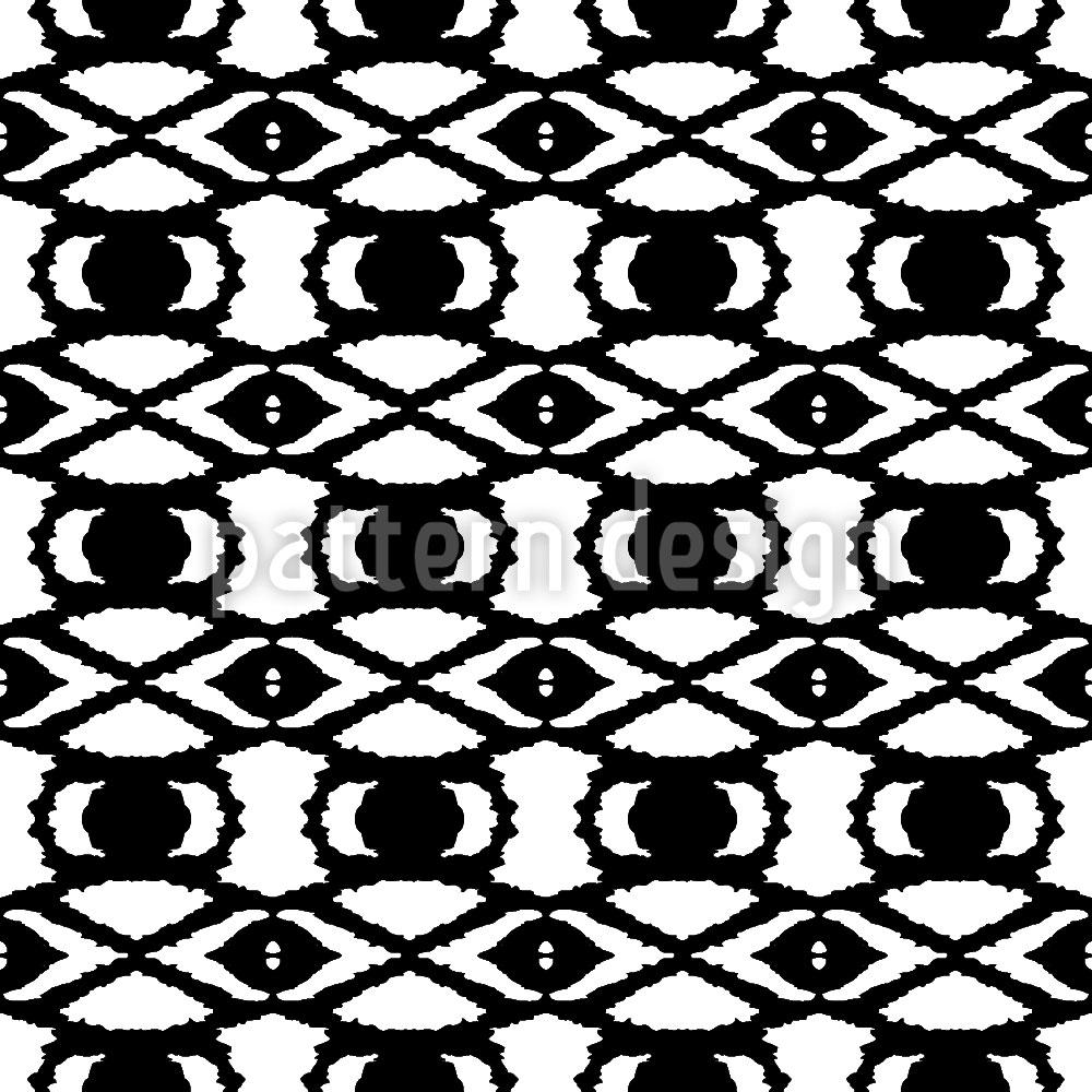 Designtapete Die Augen Afrikas