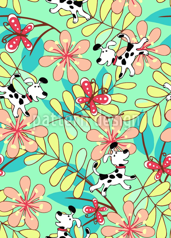 Designtapete Fang Den Schmetterling