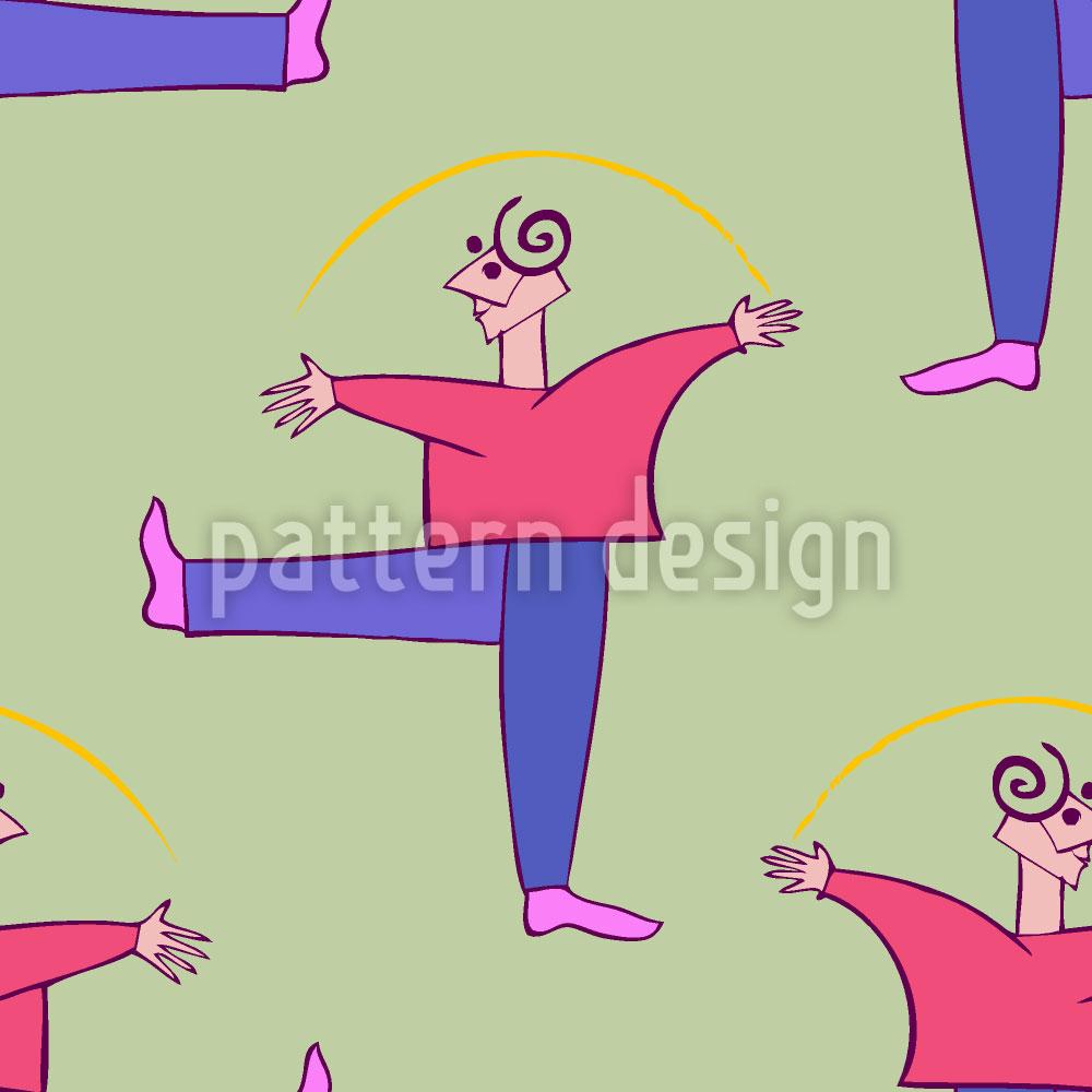 Designtapete Danza Colori