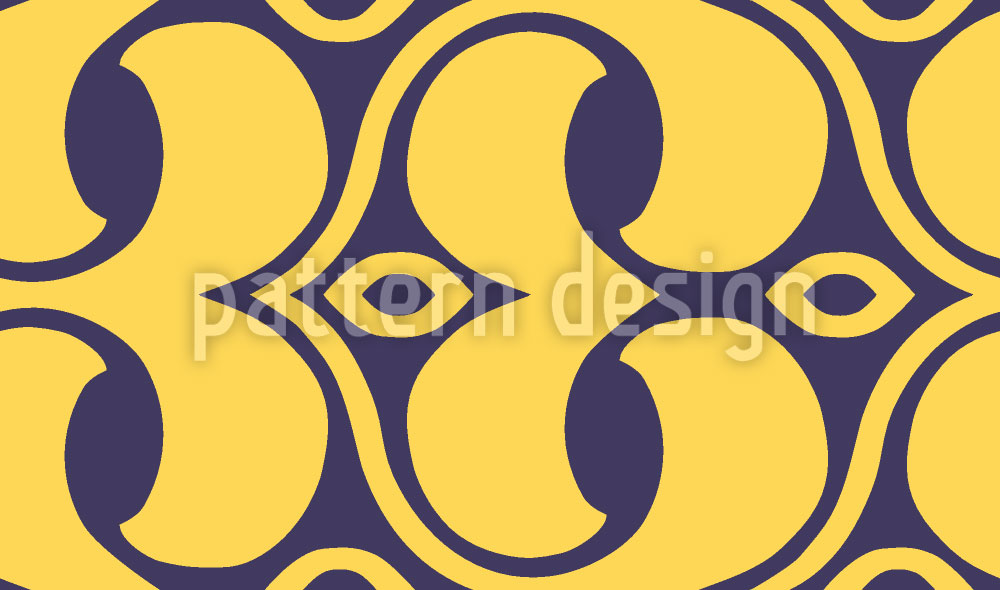 Designtapete Endlosschleifen Im Detail