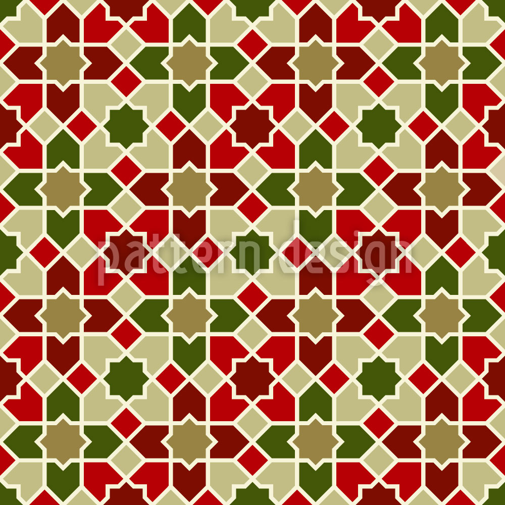 Designtapete Marokko Weihnacht