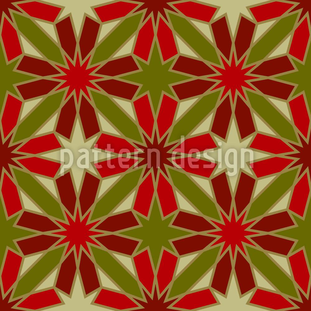 Designtapete Etoiles De Rouge
