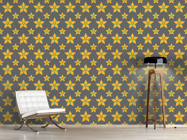 Designtapete Sternenblüte