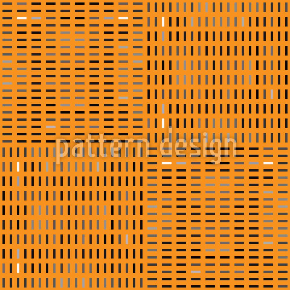 Designtapete Tilo Orange