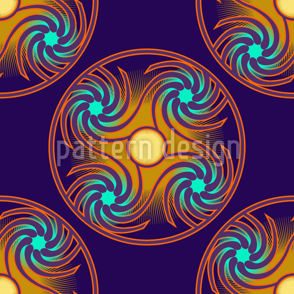 Designtapete Astro Nacht