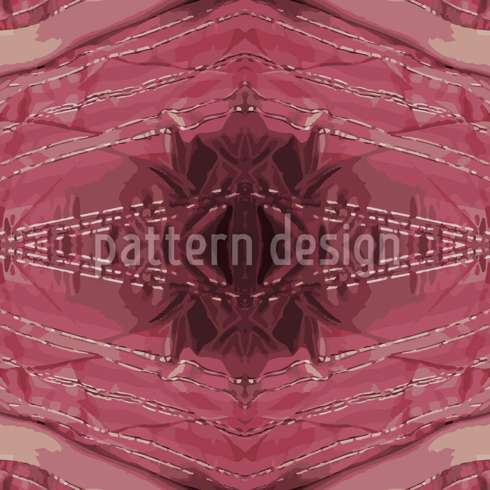 Designtapete Roter Rubin