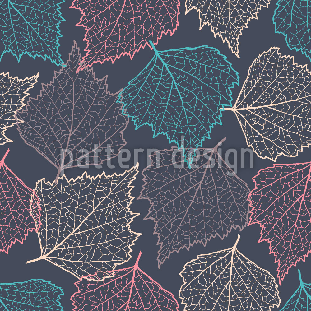 Designtapete Herbstgedanke