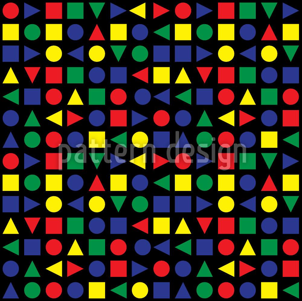 Designtapete Geometrische Formen