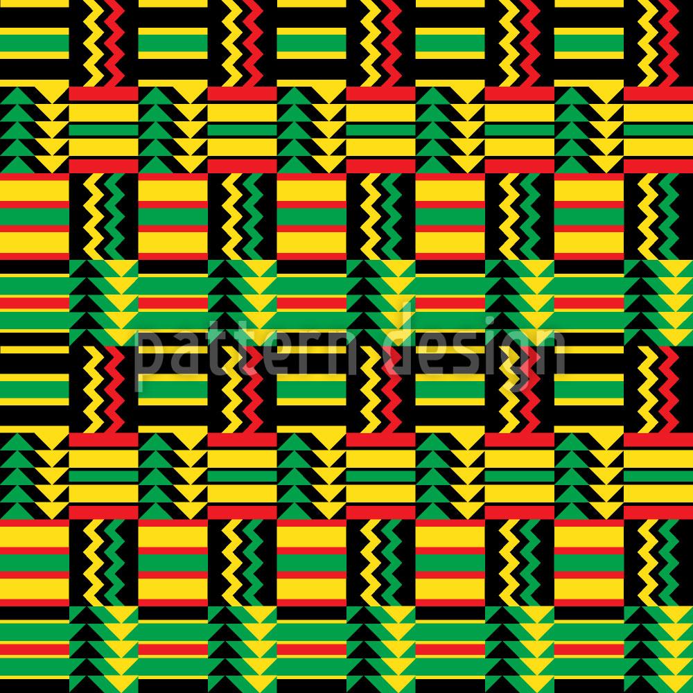 Designtapete Viva Africa