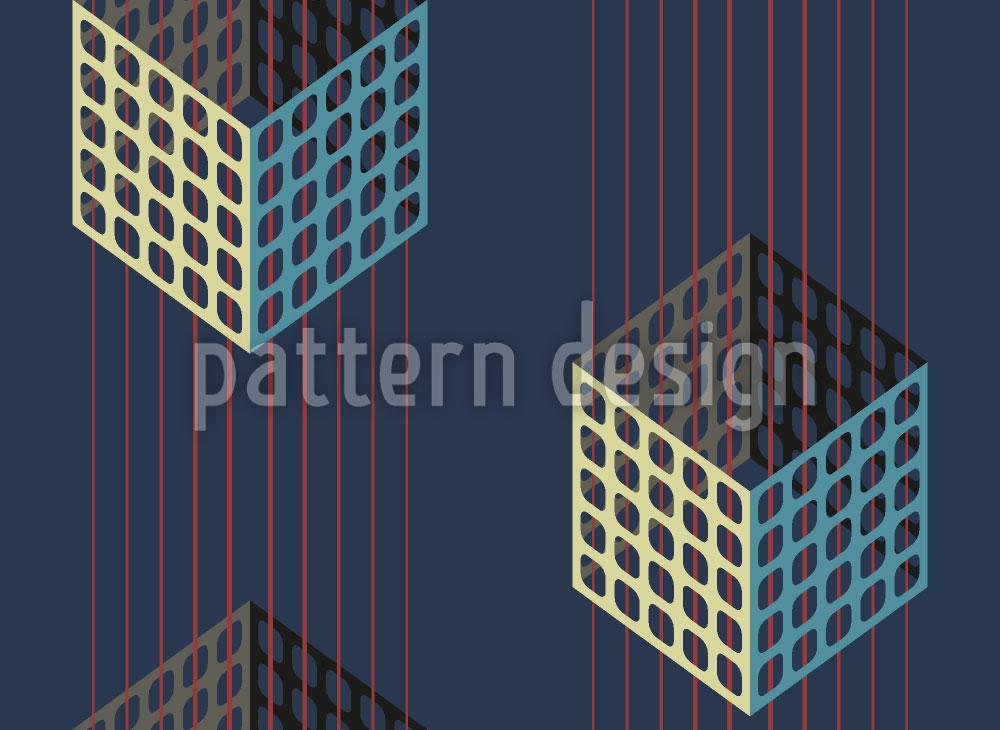 Designtapete Boxes