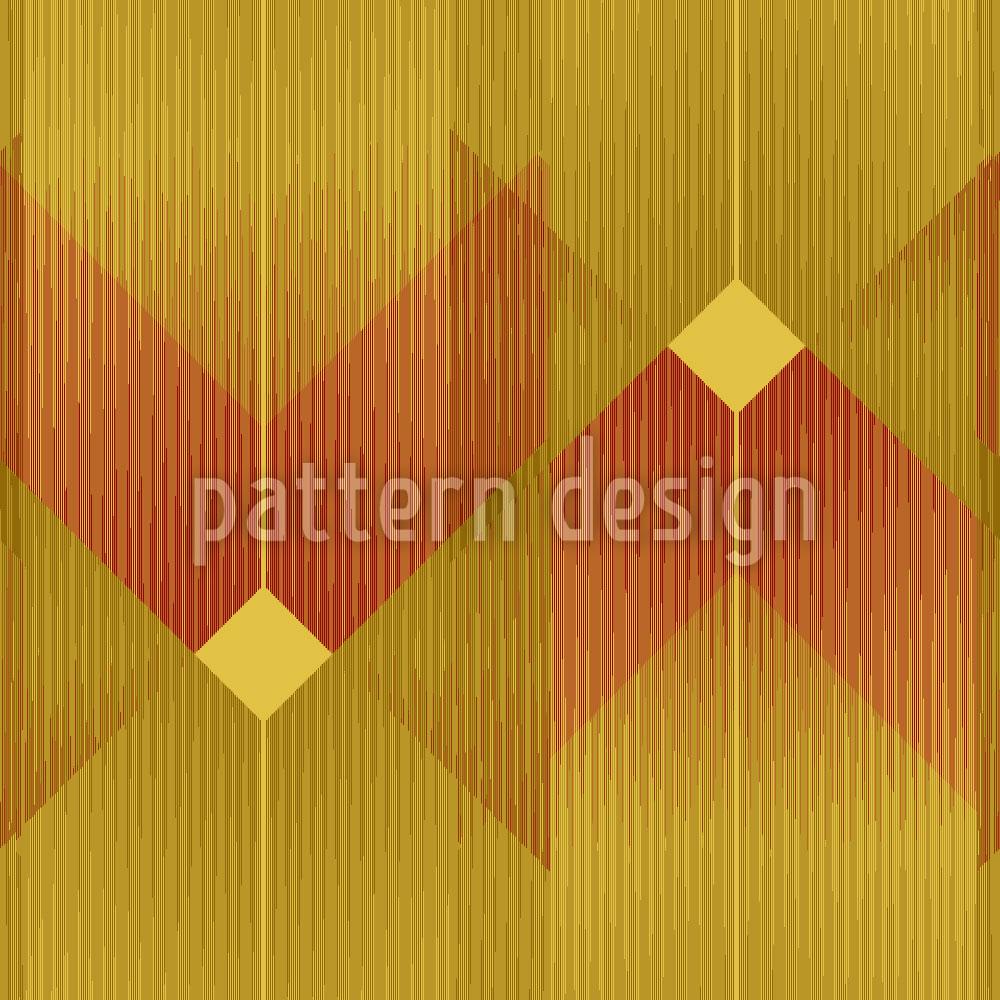 Designtapete Art Deco Linien