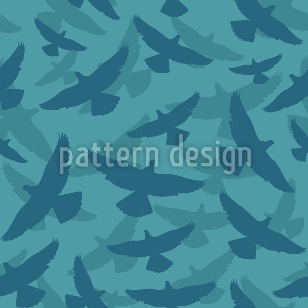 Designtapete Dove Blue