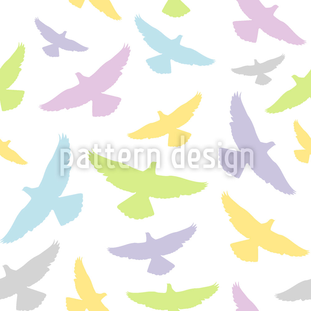 Designtapete Dove Color
