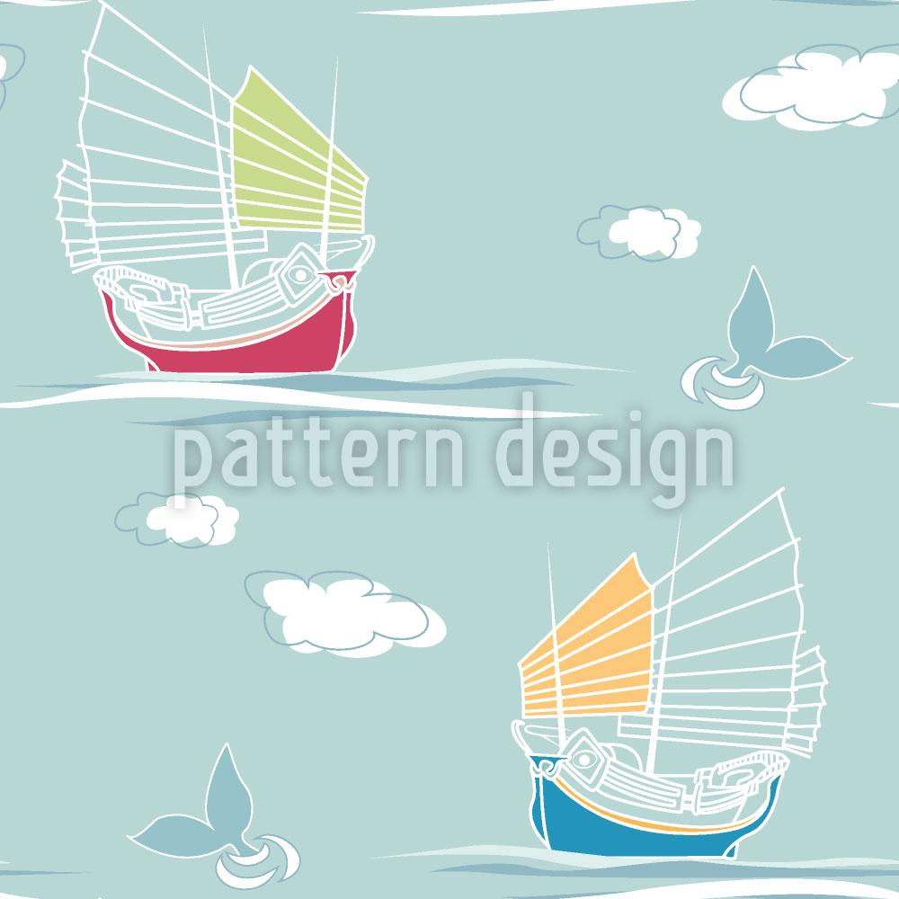 Designtapete Segelschiffe