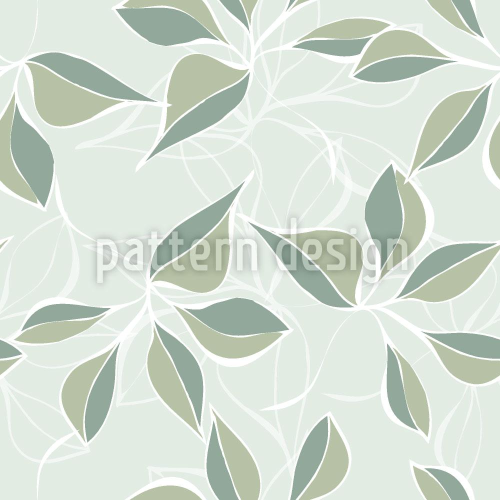 Designtapete Pastell Grün