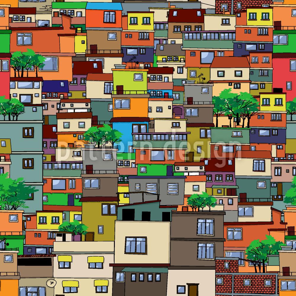Designtapete Favela
