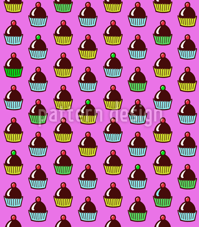 Designtapete Cupcakes