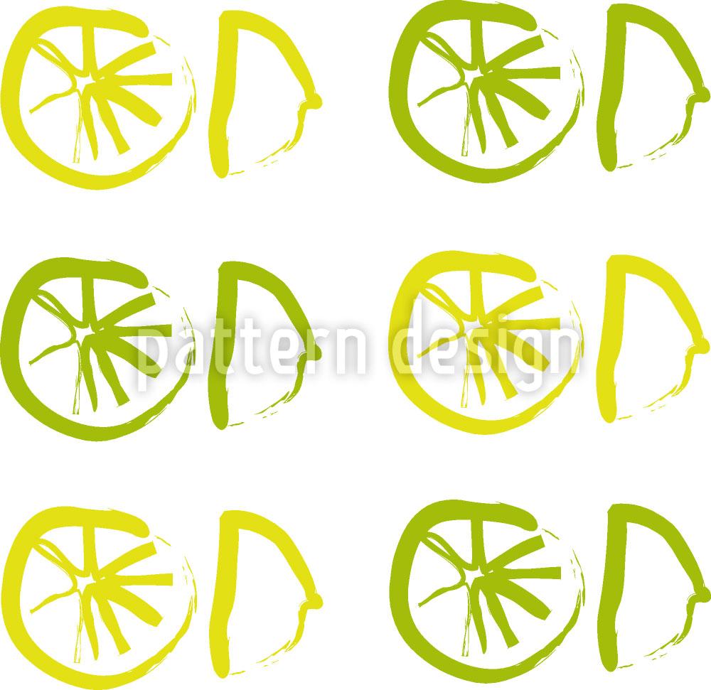 Designtapete Sunny Lemon
