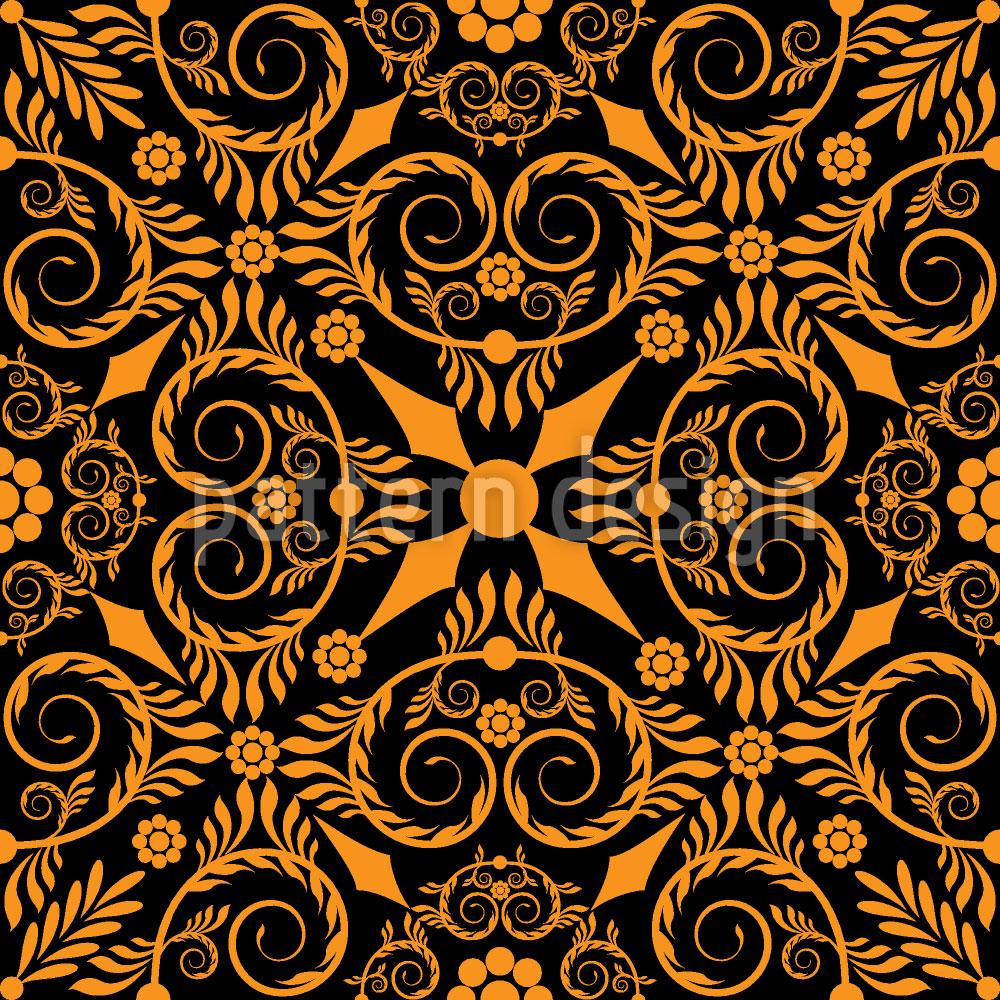 Designtapete Opulenta Orange
