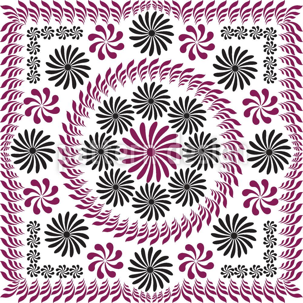 Designtapete Floralia Vintage