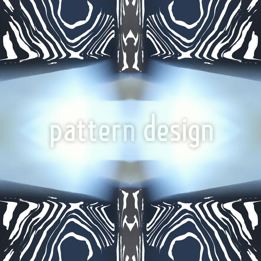 Designtapete Zebra Licht