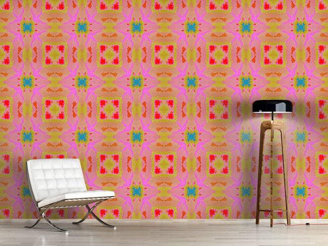 Designtapete Batik Im Sommer
