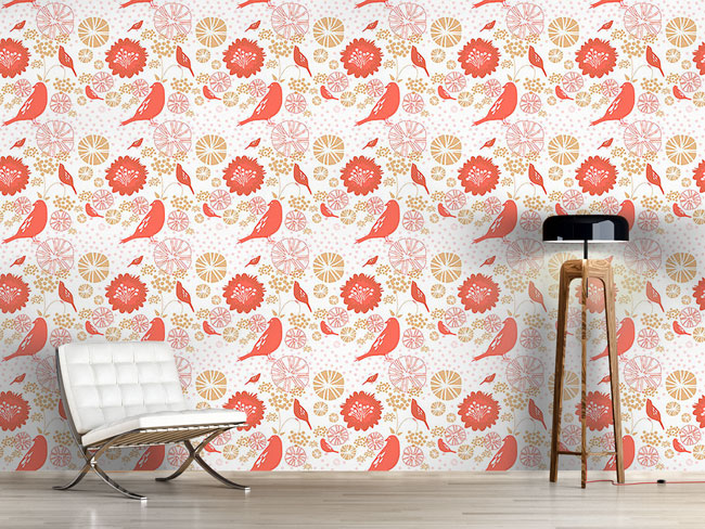 Designtapete Poppy Paradise