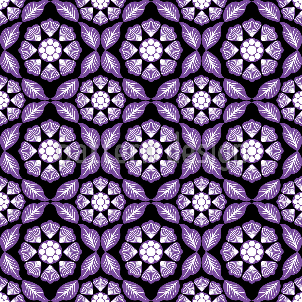 Designtapete Violet Dreams