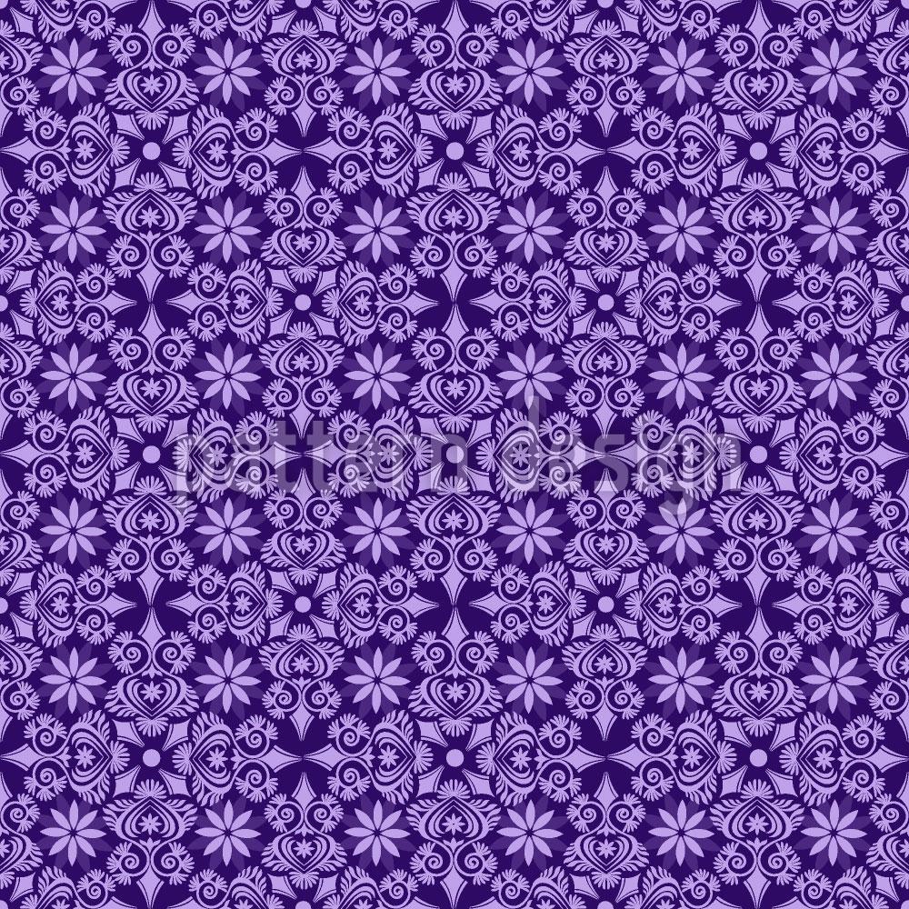 Designtapete Violettas Traumreisen