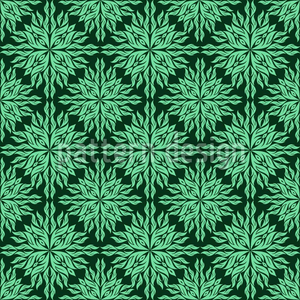Designtapete Blätterhypnose